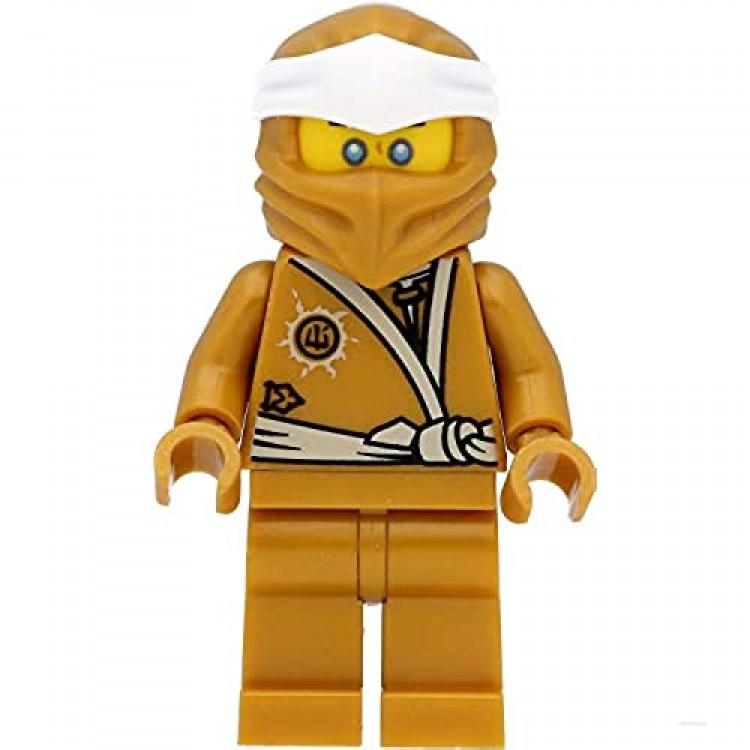 LEGO Ninjago: Golden Zane with Golden Weapon - Shuriken