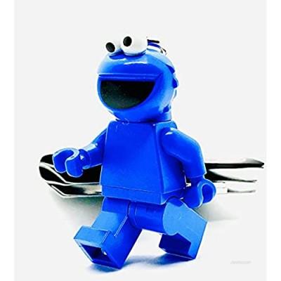 LEGO Sesame Street Cookie Monster Minifigure Keyring 854146