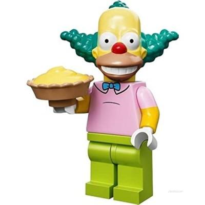 The Simpsons Lego Mini Figure Krusty The Clown